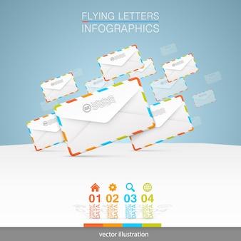 Lettere su sfondo bianco art. illustrazione vettoriale