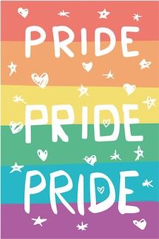 Bandiera dell'orgoglio colorato lgbtqia