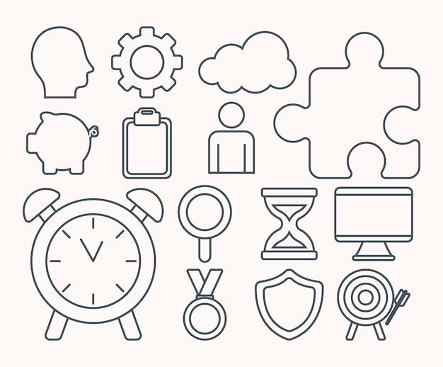 Illustrazioni di abilità di vita