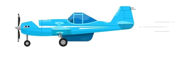 Aeroplano leggero. volare aerei veloci
