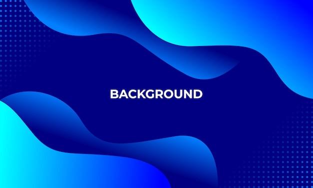 Sfondo azzurro con stile 3d