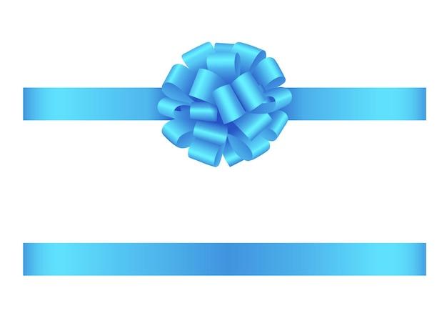 Fiocco azzurro con fiocco
