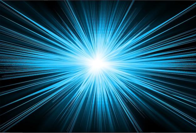 Priorità bassa astratta dello zoom blu-chiaro
