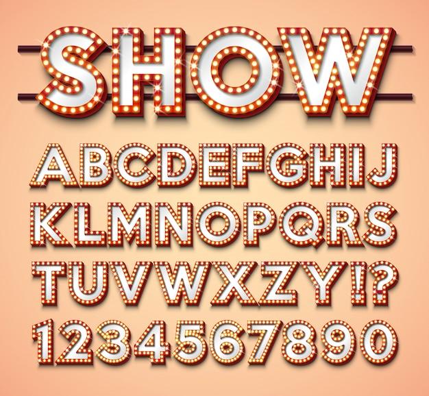 Lampadina alfabeto