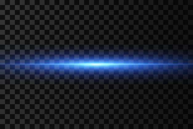 Effetto luce. fasci laser astratti di luce.