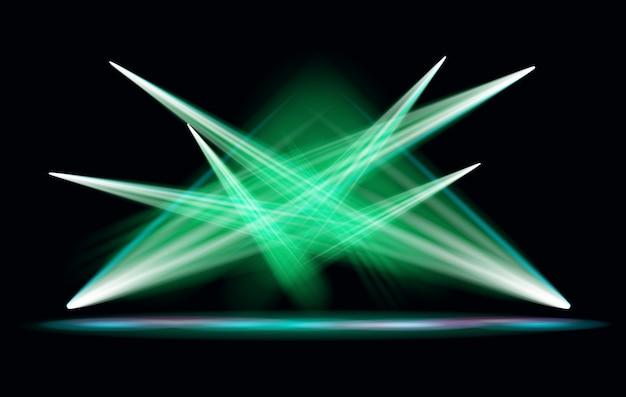 Faretto effetto luce con sfondo trasparente