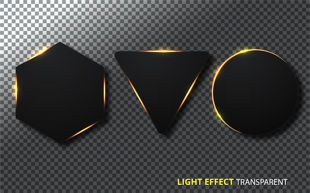 Effetto luce trasparente