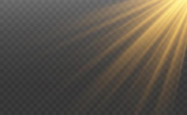 Effetto speciale bagliore di luce
