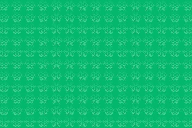 Sfondo con motivo fiocco di neve verde chiaro