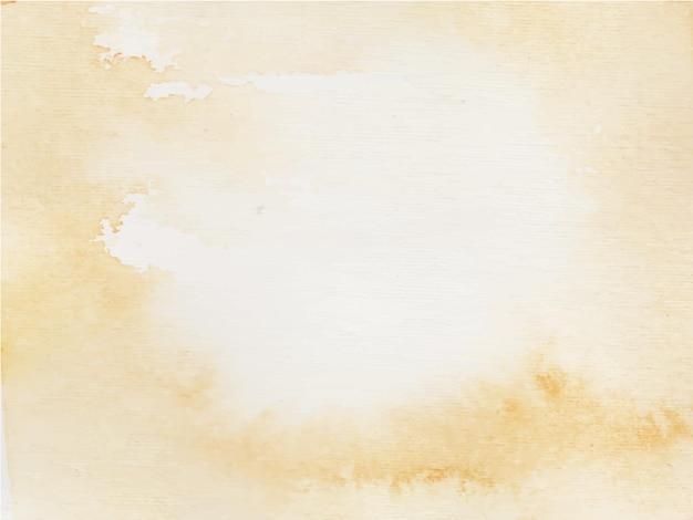Priorità bassa decorativa astratta dell'acquerello arancione chiaro