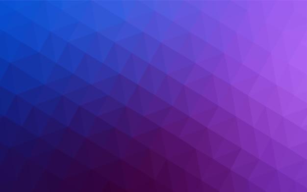 Trama di triangoli sfumati rosa chiaro, blu.