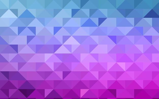 Fondo poligonale dell'estratto di vettore blu rosa-chiaro