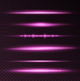 Effetto luce rosa chiaro twirl curve della linea rosa cerchio rosa luminoso vector png