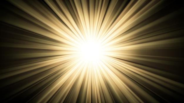 Luce che splende dall'oscurità 16: 9 aspect ratio