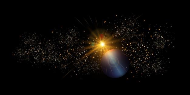 Velocità della luce nello spazio