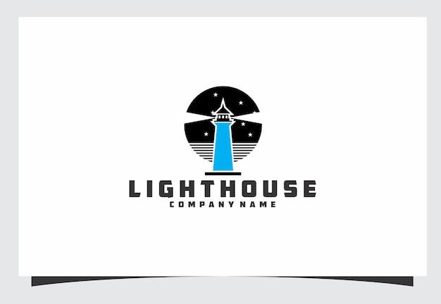 Design del logo del faro