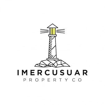 Logo del faro per il tuo business
