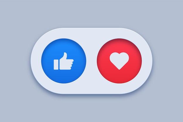 Mi piace e icone preferite