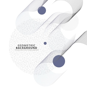 Illustrazione di arte di linea su sfondo bianco. sfondo tecnologico. design artistico colore decorativo.