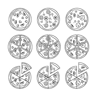 Linea pizza set