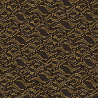 Modello di linee astratte piatte lineari