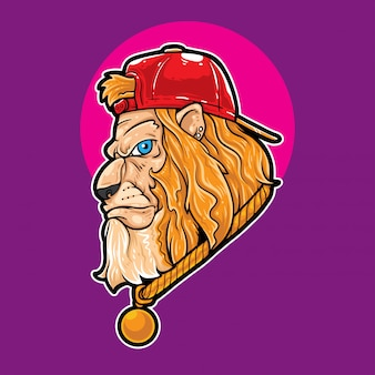 Lion cool swag