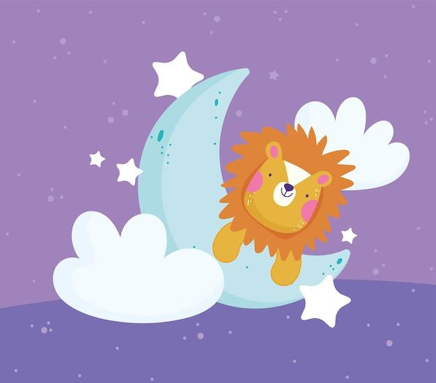 Mezza luna di leone