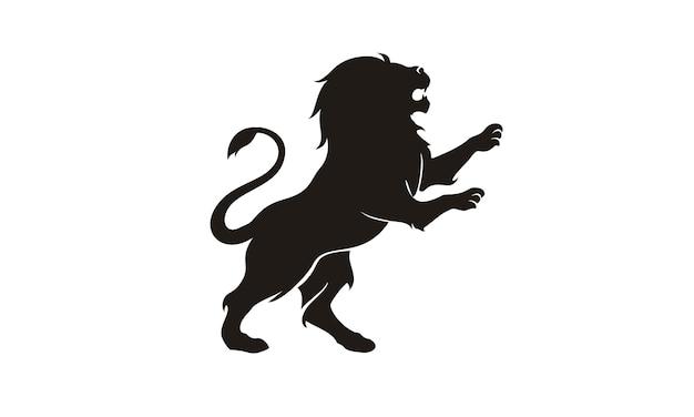 Ispirazione per il design del logo lion