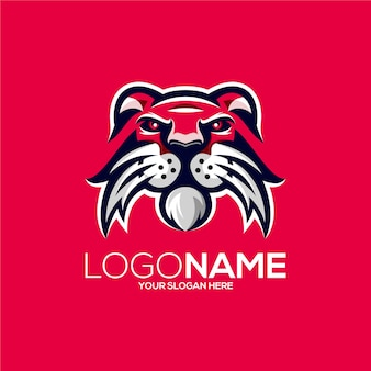 Design del logo del leone