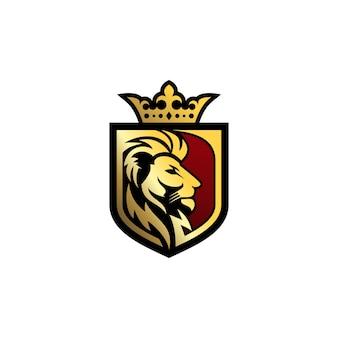 Lion logo vector template