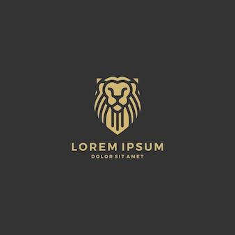 Logo scudo leone