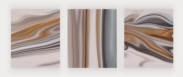 Stampe d'arte da parete astratte liquide
