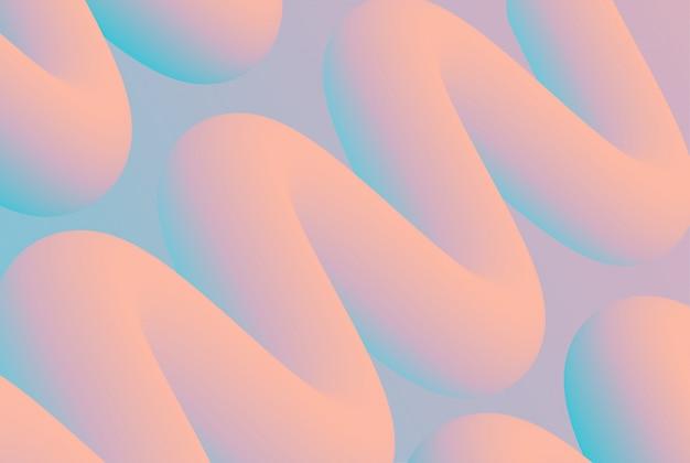 Disegno di sfondo di colore liquido. poster moderno flusso colorato. illustrazione
