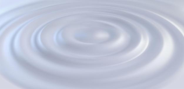 Superficie liquida cremosa con increspature