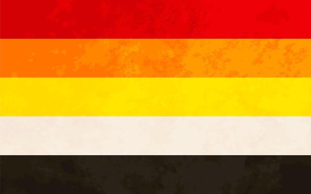 Segno lithsessuale, bandiera dell'orgoglio lithsessuale con texture