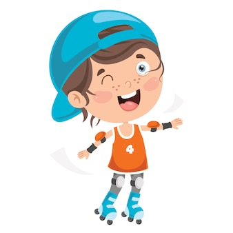 Pattini a rotelle per bambini