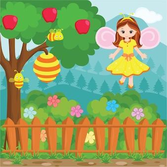 Little princess bee