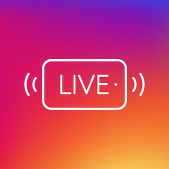Banner live in stile piattotutorial video gratuiti in diretta webinar webcast streaming calcio in streaming