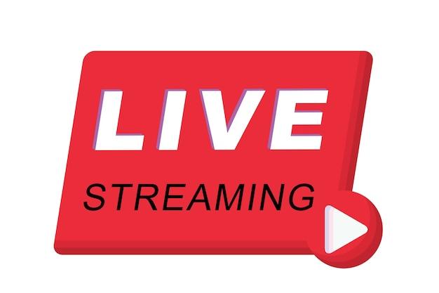 Pulsante live streaming,