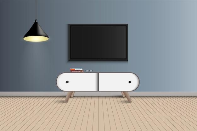 Design di soggiorno e decorazione