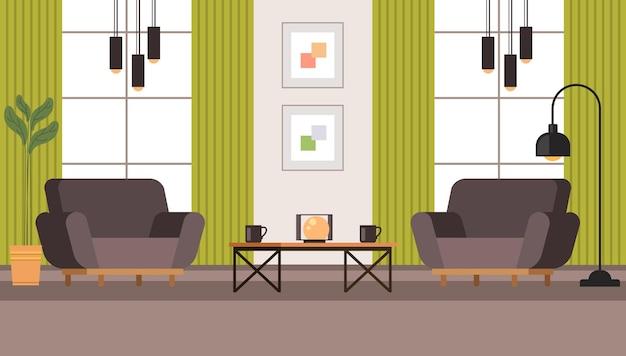 Soggiorno mobili interni concept.