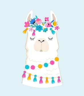 Lama con illustrazione di accessori