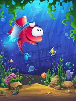 Schermata di caricamento per l'illustrazione del gioco per computer