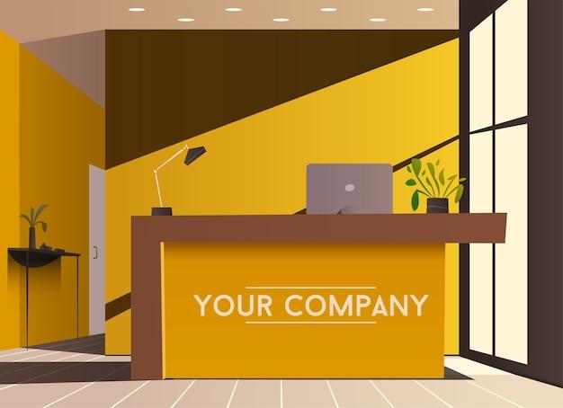 Lobby dell'azienda o dell'hotel