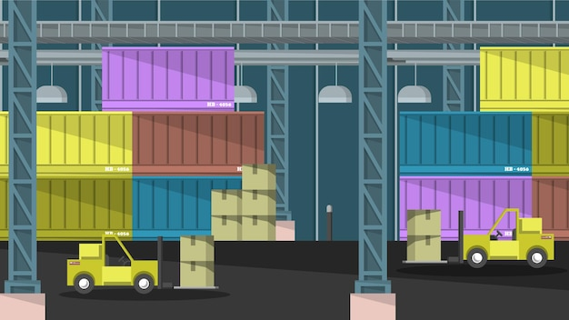Logistica - scene d'interni