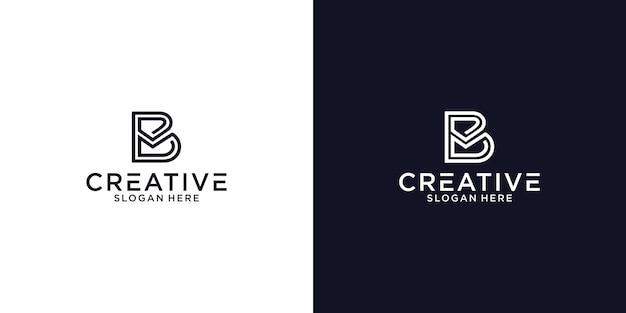 Logo b mail design grafico per altri usi è molto adatto