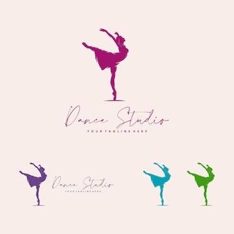 Logo per uno studio di balletto o danza