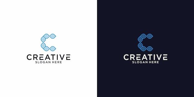 Logo c blockchain graphic design per altri usi è molto adatto