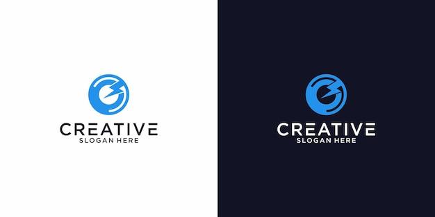 Logo c la progettazione grafica elettrica per altri usi è molto adatta