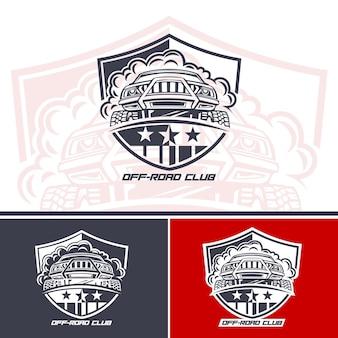 Logo dei conducenti di suv del club